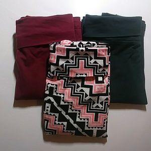 3 Charlotte Russe skirts M